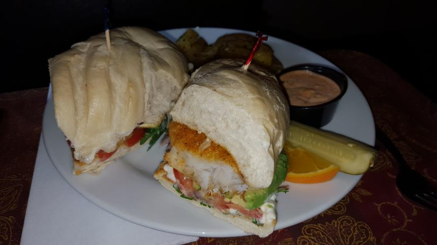 Cali Fish Sandwich