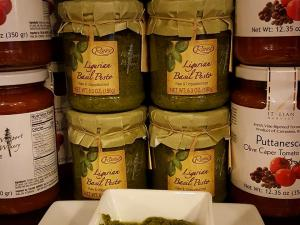 Ligurian Basil Pesto Sampling Today