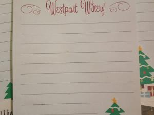 Wish List at Westport Winery